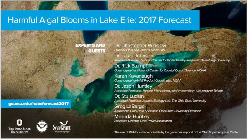 Harmful Algal Bloom Forecast 2017
