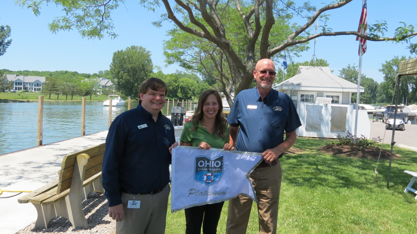 Bay Point Marina Becomes Ohio's First Platinum Clean Marina