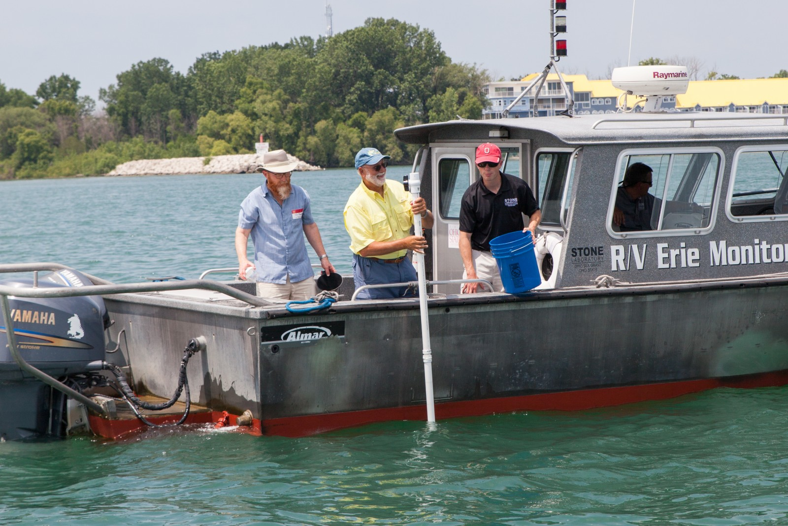 Lake Erie Charter Captains Play a Major Role in Water Quality Sampling