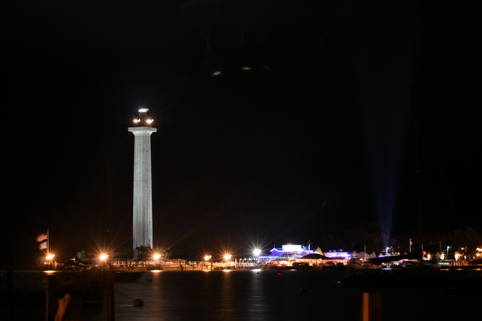 Perry's Monument at Night