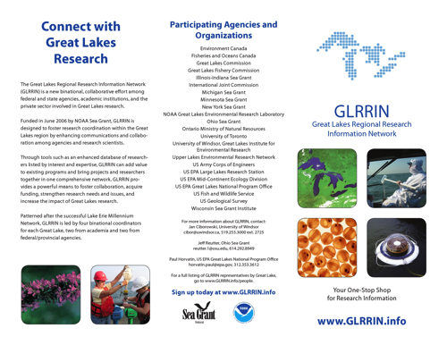 Great Lakes Regional Research Information Network Ad