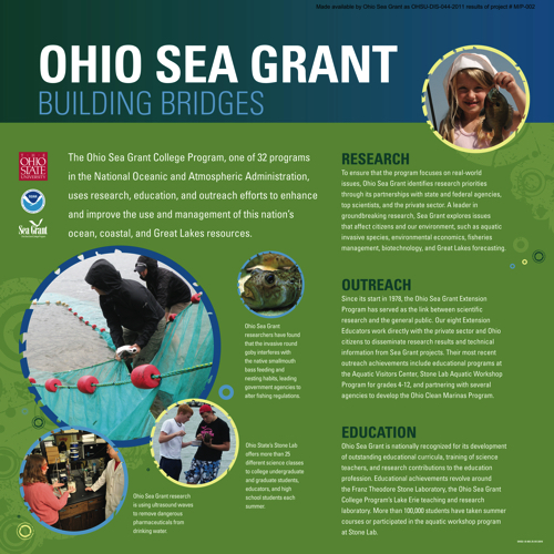 Ohio Sea Grant building bridges