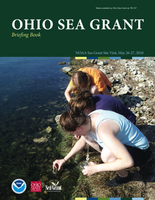 Ohio Sea Grant briefing book for NOAA Sea Grant site visit May 26-27 2010
