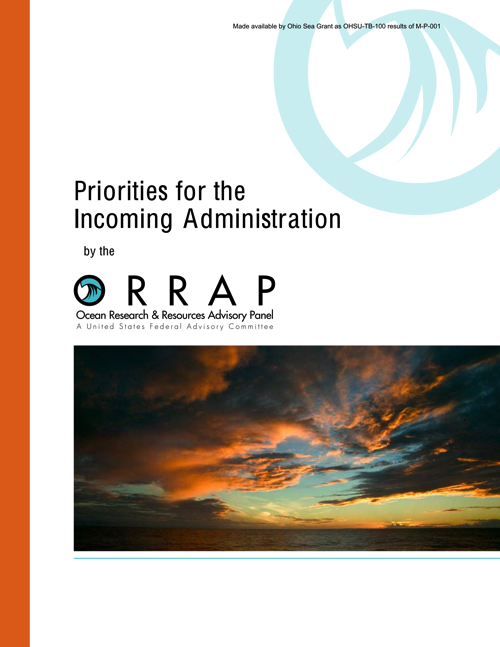 Priorities for the incoming administration by the ORRAP