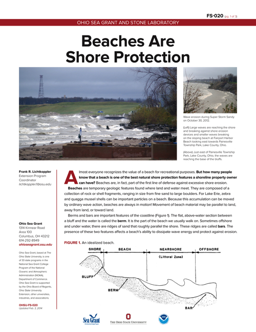 Beaches Are Shore Protection