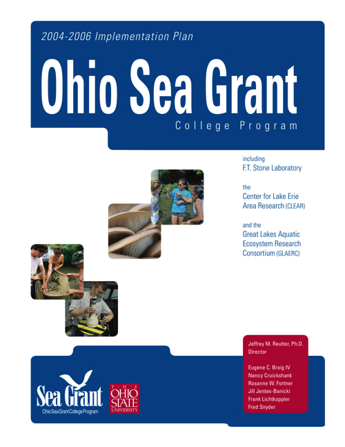 Implementation plan for the Ohio Sea Grant College Program 2004-2006