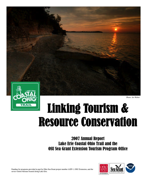 2007 Lake Erie Coastal Ohio Annual Report