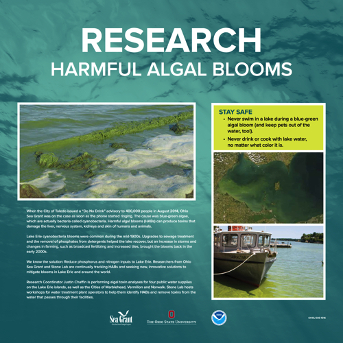 Harmful Algal Blooms Kiosk Panel