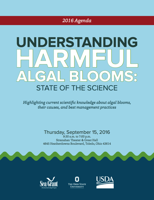 2016 Understanding Harmful Algal Blooms: State of the Science Conference Agenda