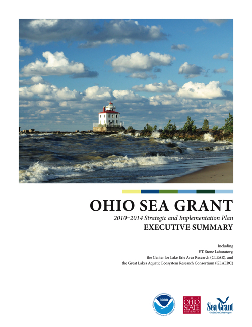 Executive Summary Ohio Sea Grant 2010-2014 Strategic and Implementation Plan