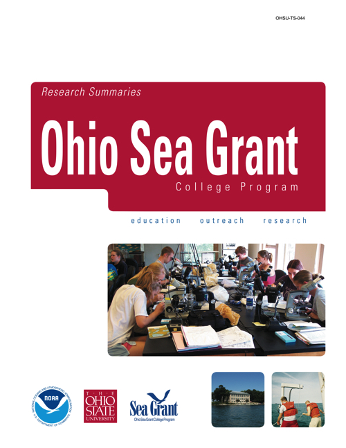 2000 to 2006 Ohio Sea Grant Research Summaries