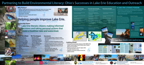 Partnering to Build Environmental Literacy: Ohio's Successes in Lake Erie Education and Outreach Display
