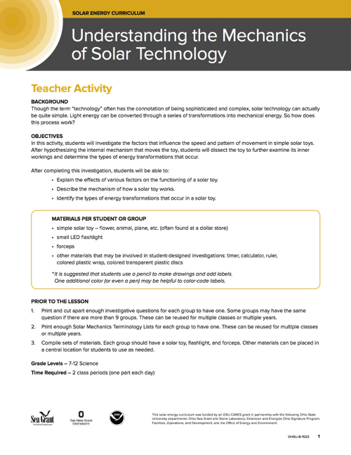Understanding the Mechanics of Solar Technology