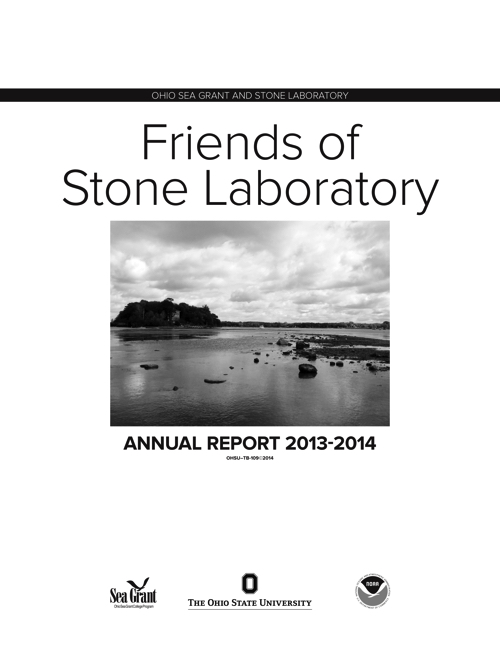 2013-2014 Friends of Stone Lab Annual Report