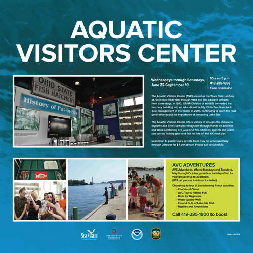 2016 Aquatic Visitors Center Kiosk